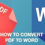 convert pdf to word 2016 online