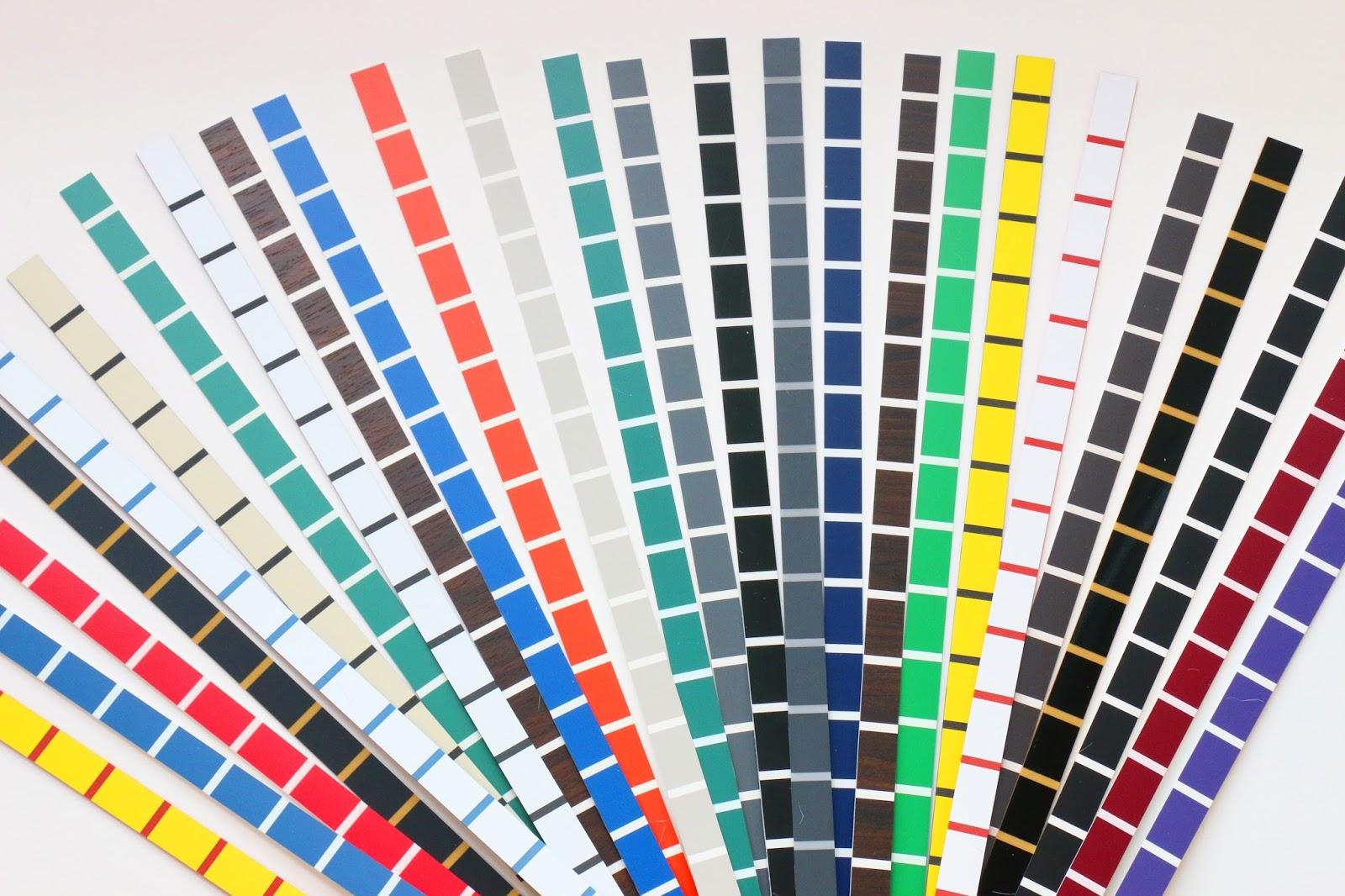 application of plastic laminate