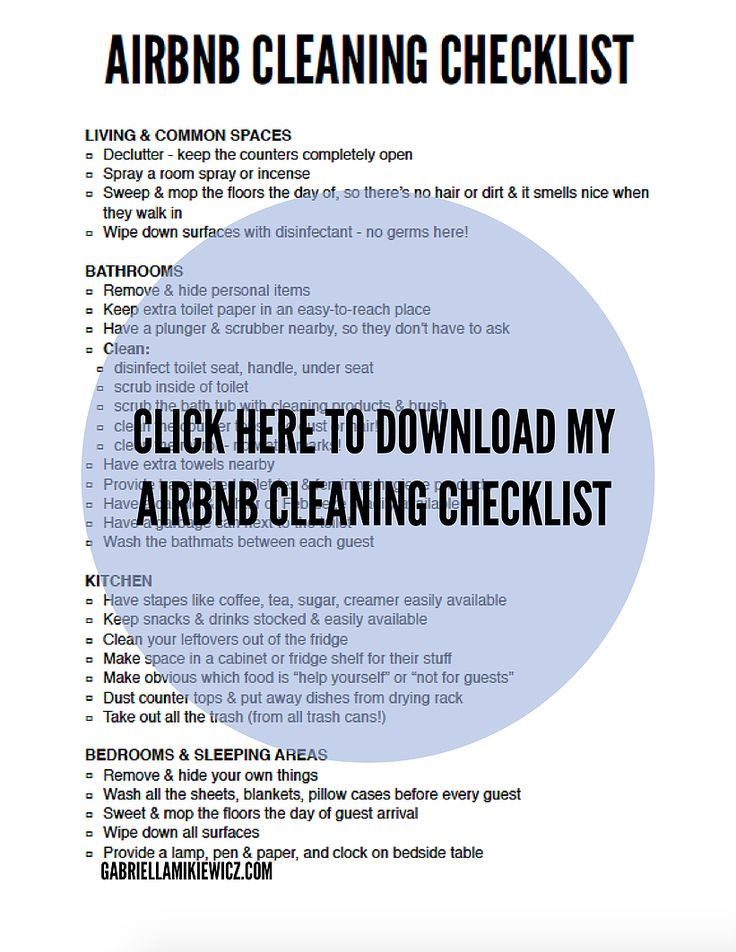airbnb guidebook template