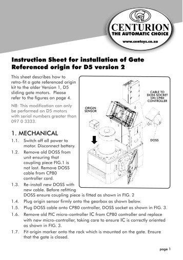 centurion d3 remote programming manual