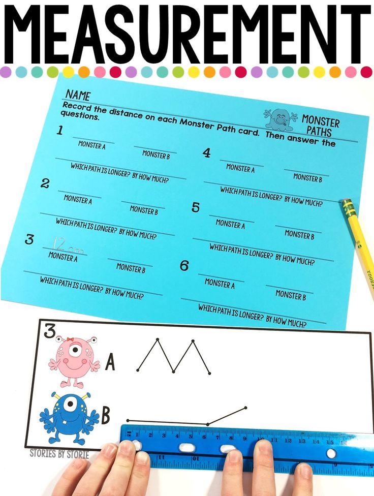 2nd grade measurement worksheets pdf
