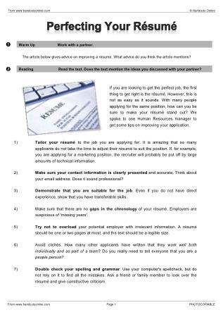 business english worksheets pdf