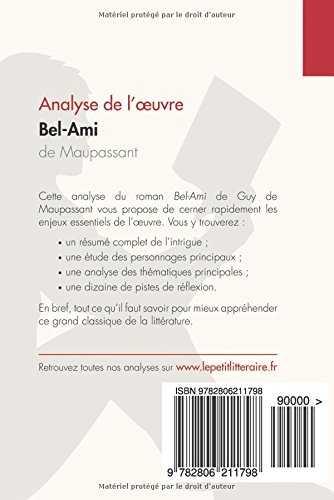 bel ami maupassant analyse pdf