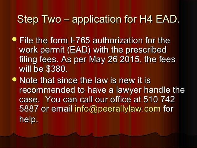 ead application