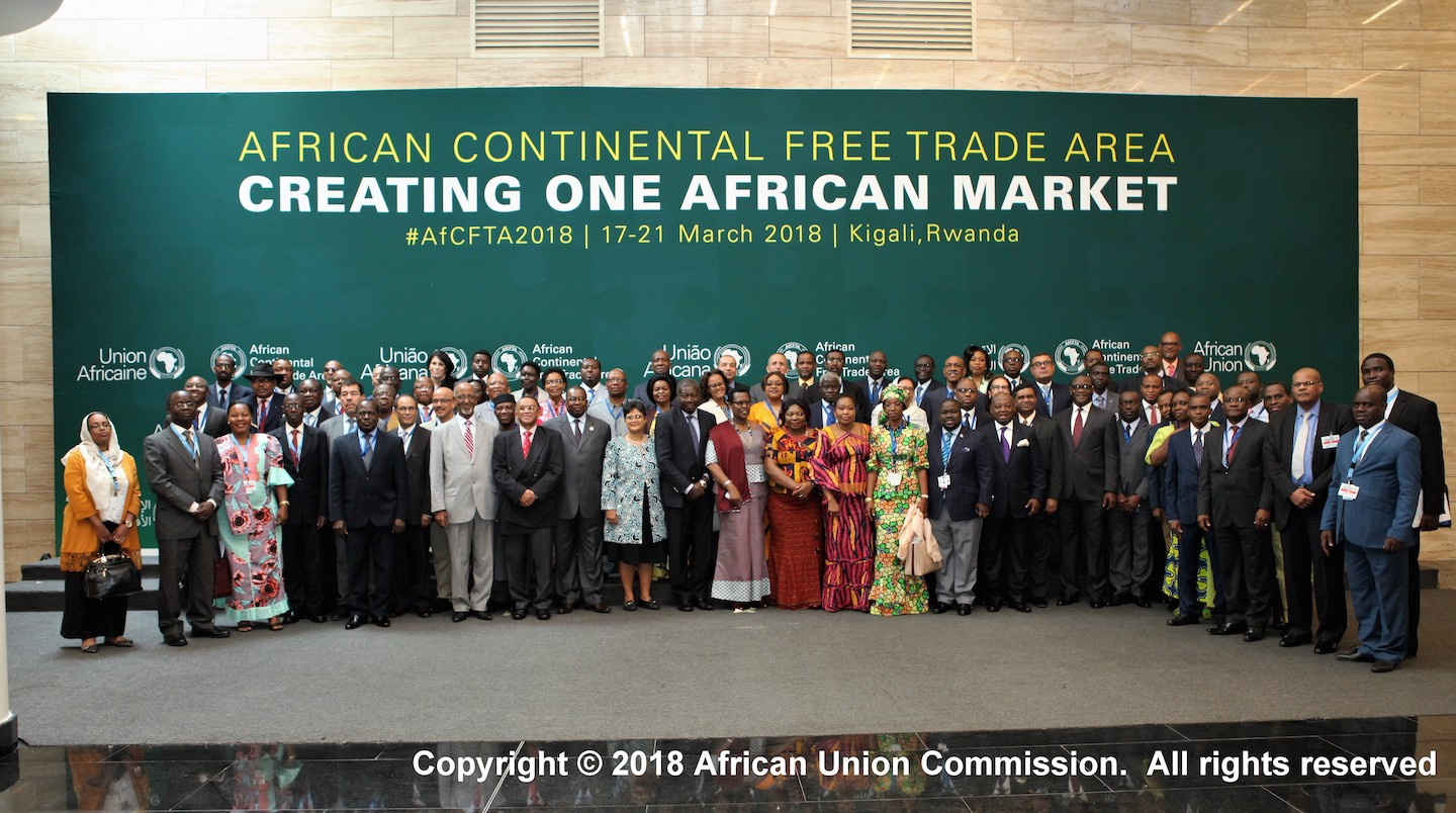 african continental free trade area agreement pdf