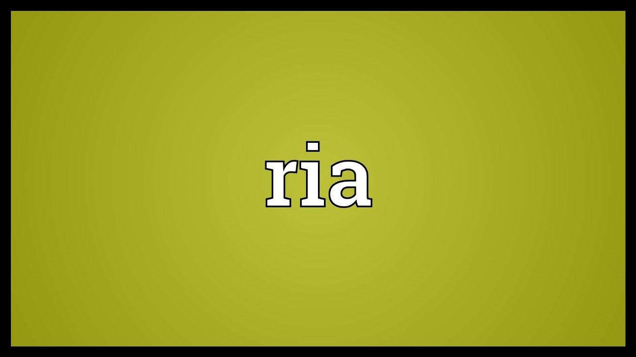 dictionary rias