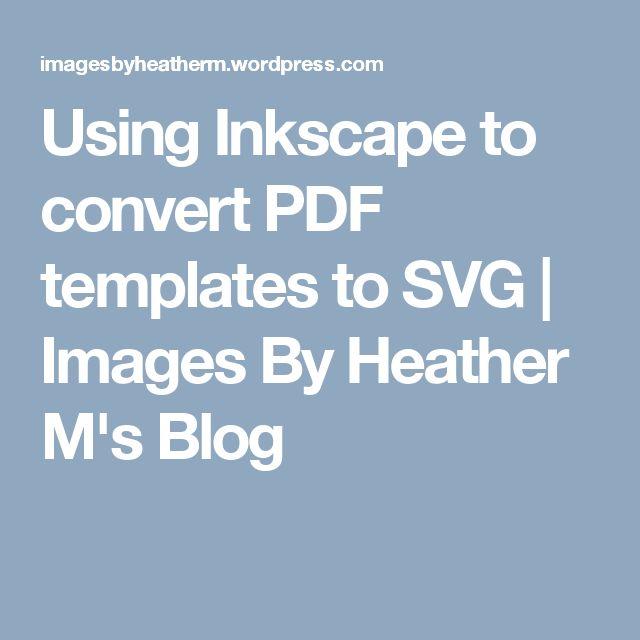 convert pdf to svg