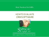 crm evaluation guide