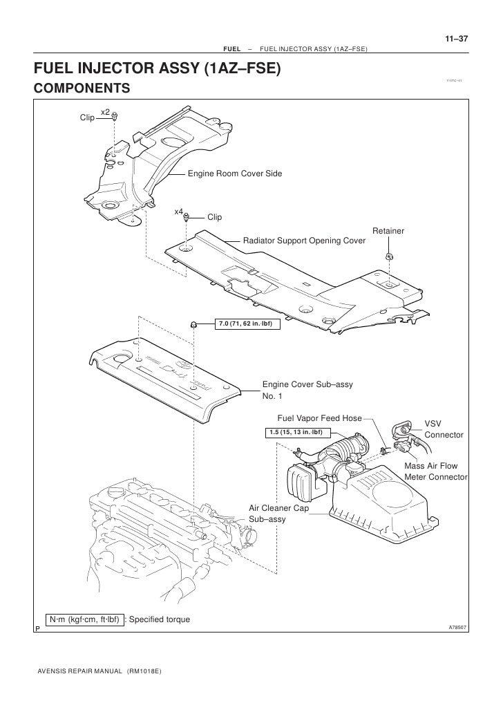 1az fse engine manual