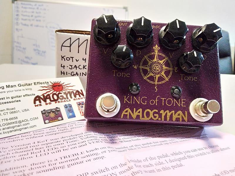 analogman king of tone manual