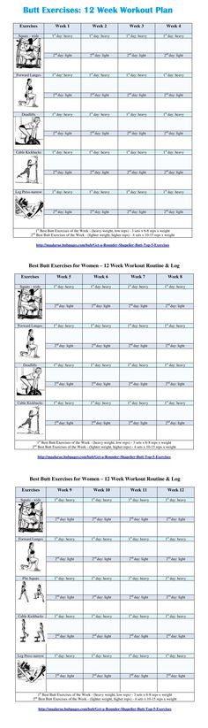 booty workout plan pdf