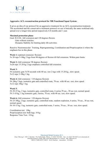 acl reconstruction physiotherapy protocol pdf