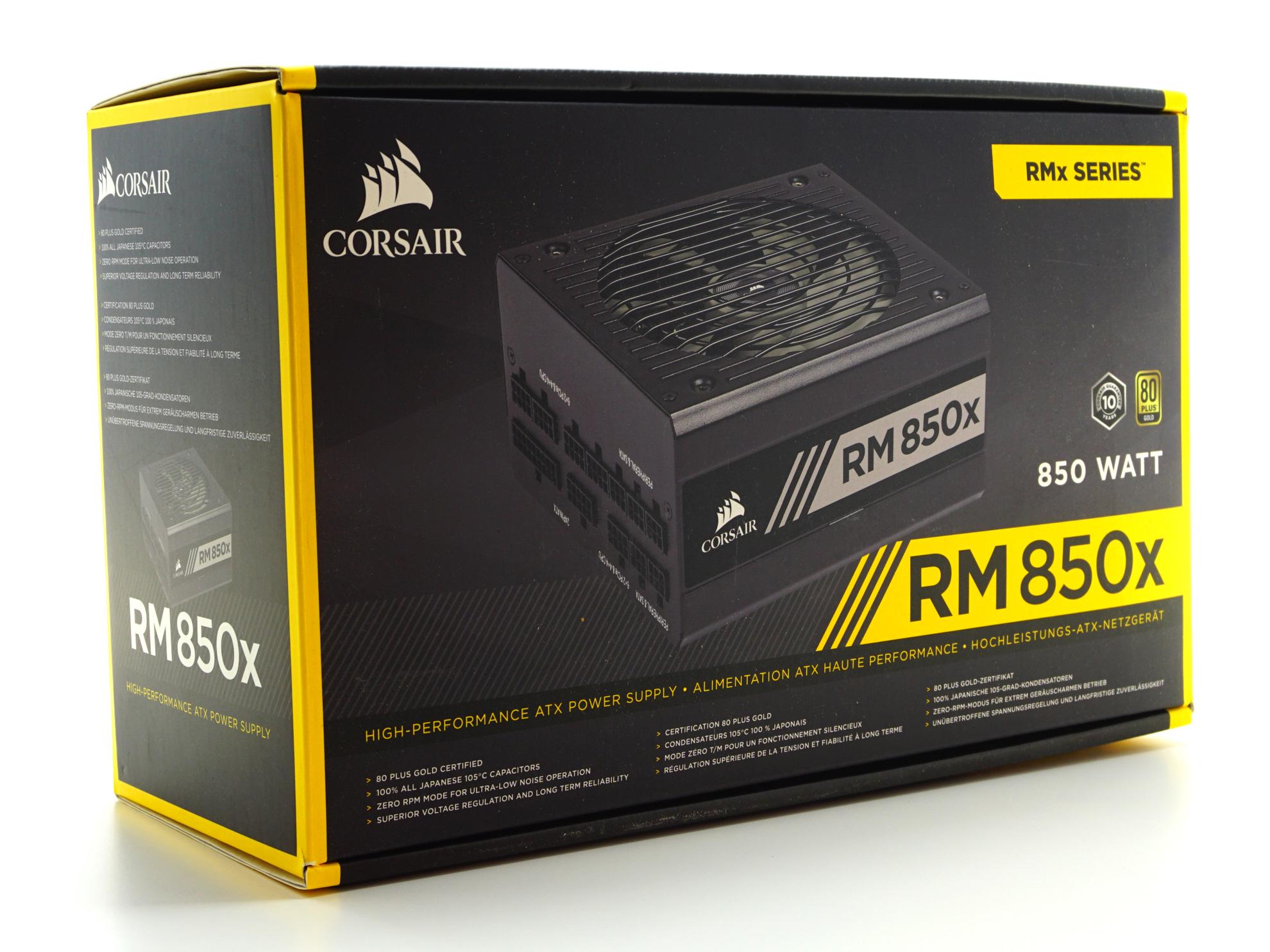 corsair rm850x manual