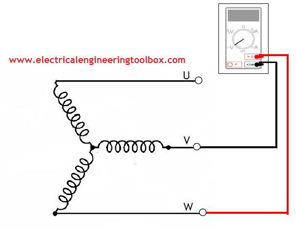 3 phase motor winding resistance chart pdf