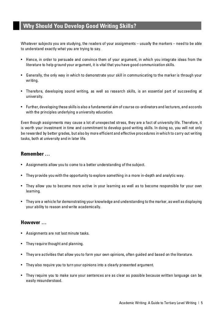 academic writing guide nz