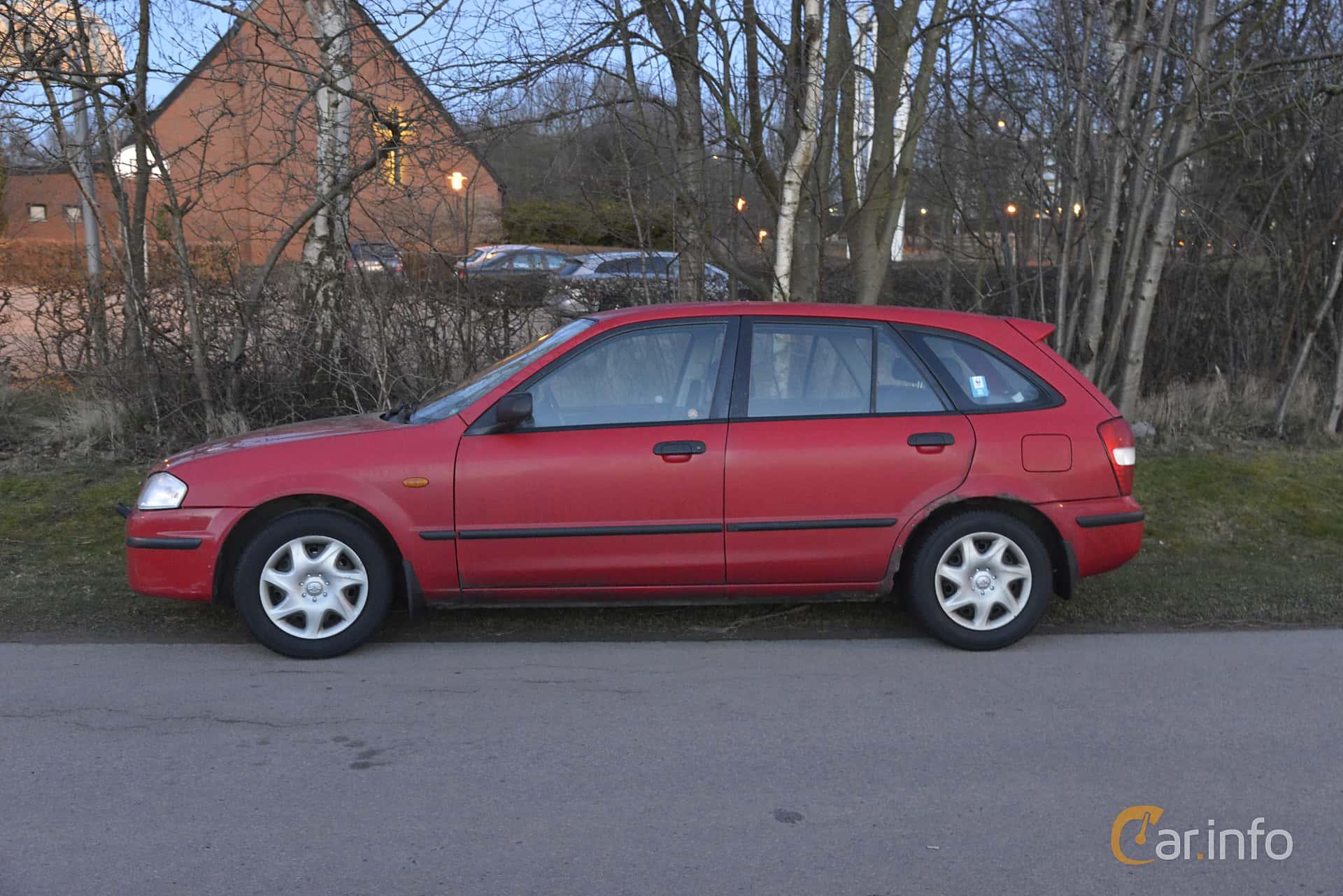 1999 mazda familia hatchback owners manual