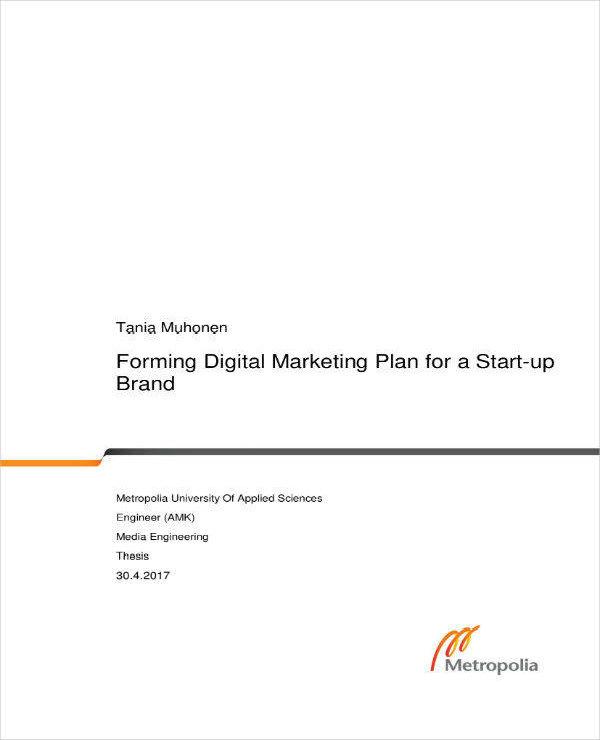 digital advertising business plan pdf