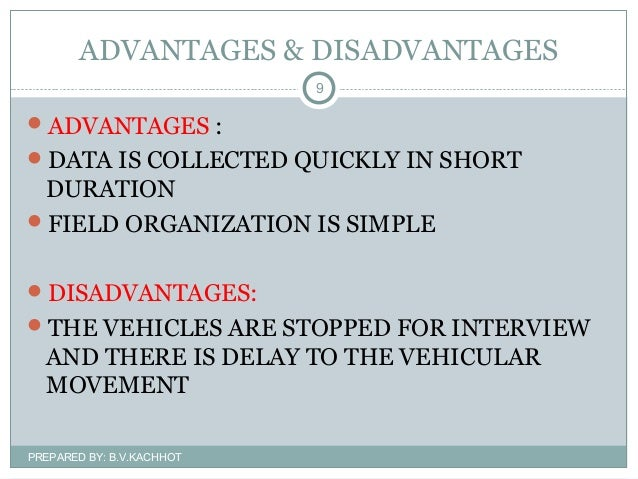 advantages and disadvantages of sample survey