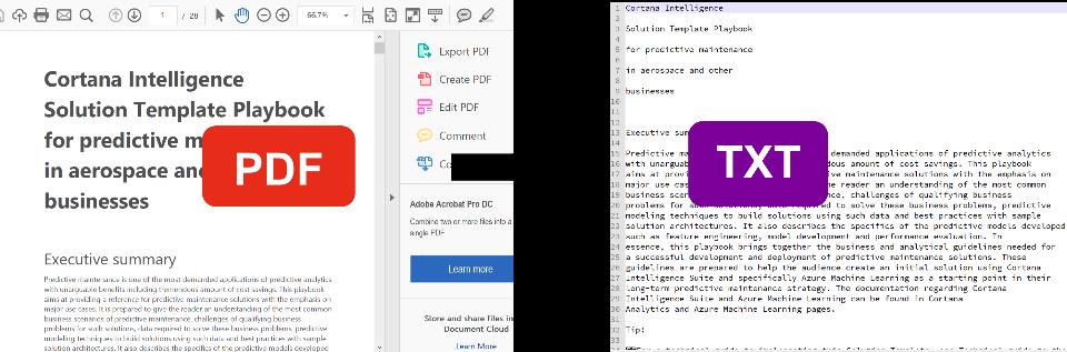 convert pdf to text python