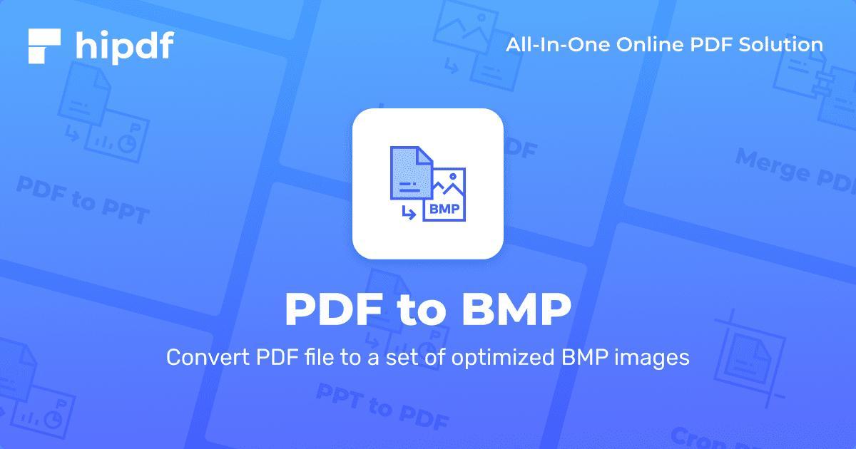 convert pdf to bmp free