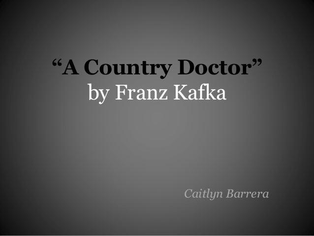 a country doctor kafka pdf