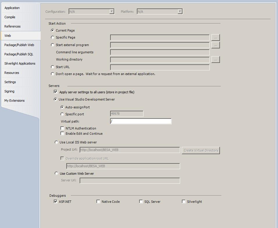 asp net web application