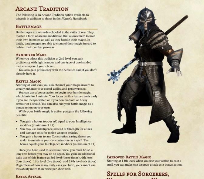 5e bladesinger guide