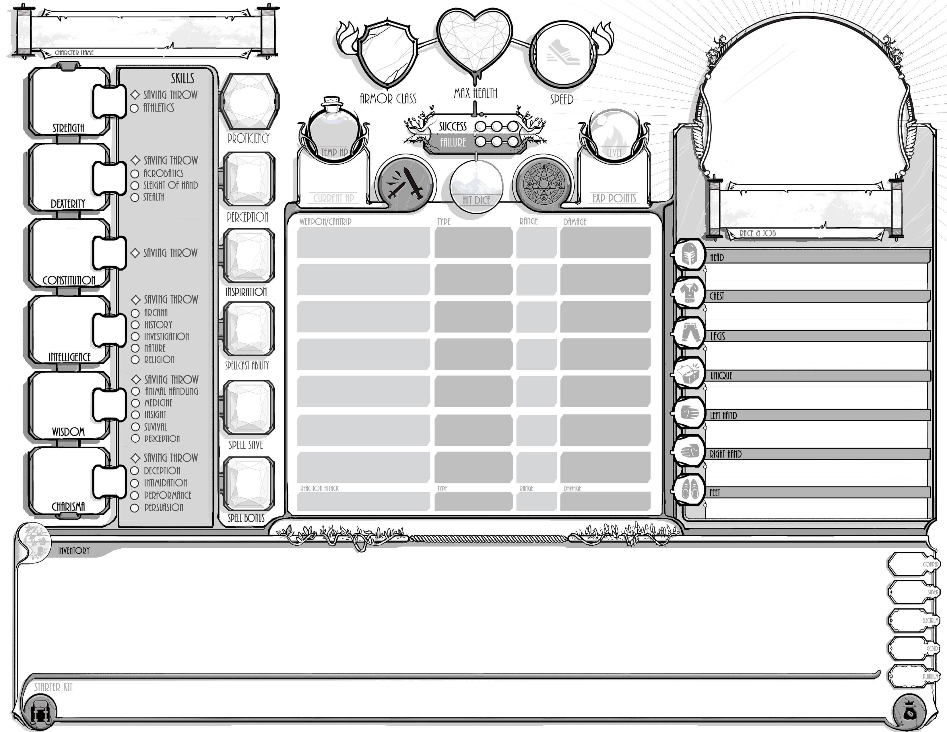 5e character sheet pdf reddit