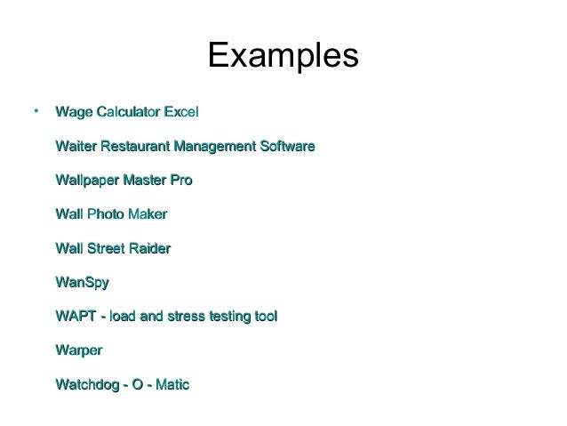 application software examples images