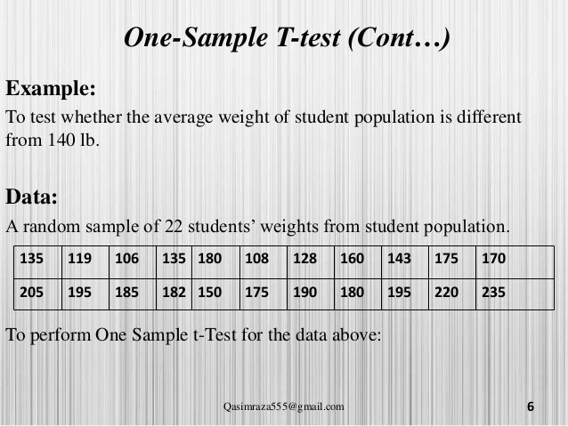 data paired sample t test