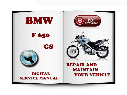 bmw f650gs 2012 service manual