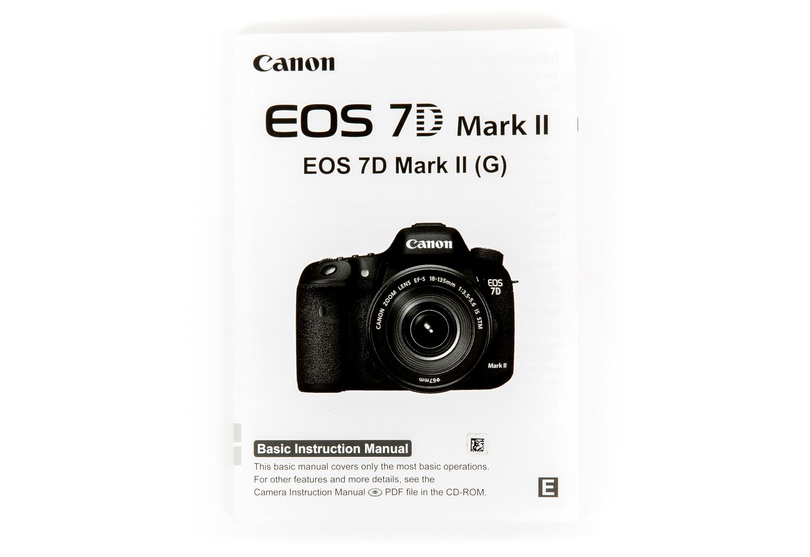 canon 7d mark ii guide