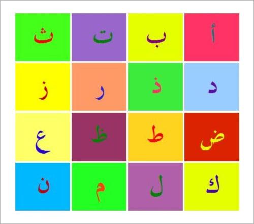 arabic alphabet pdf free download