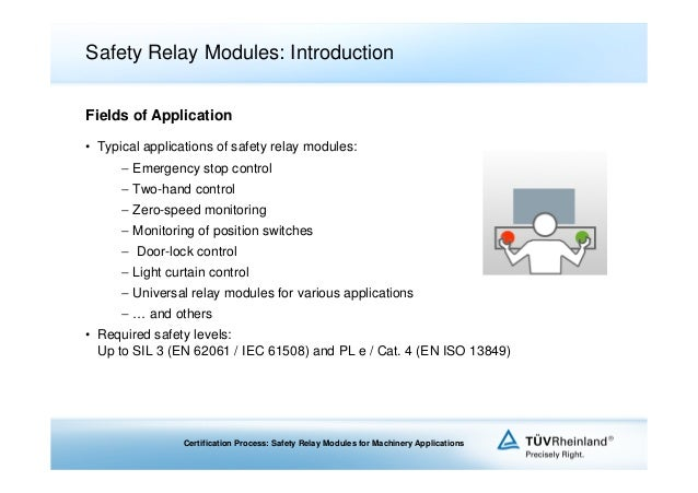 application of relay