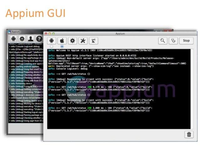 appium python documentation