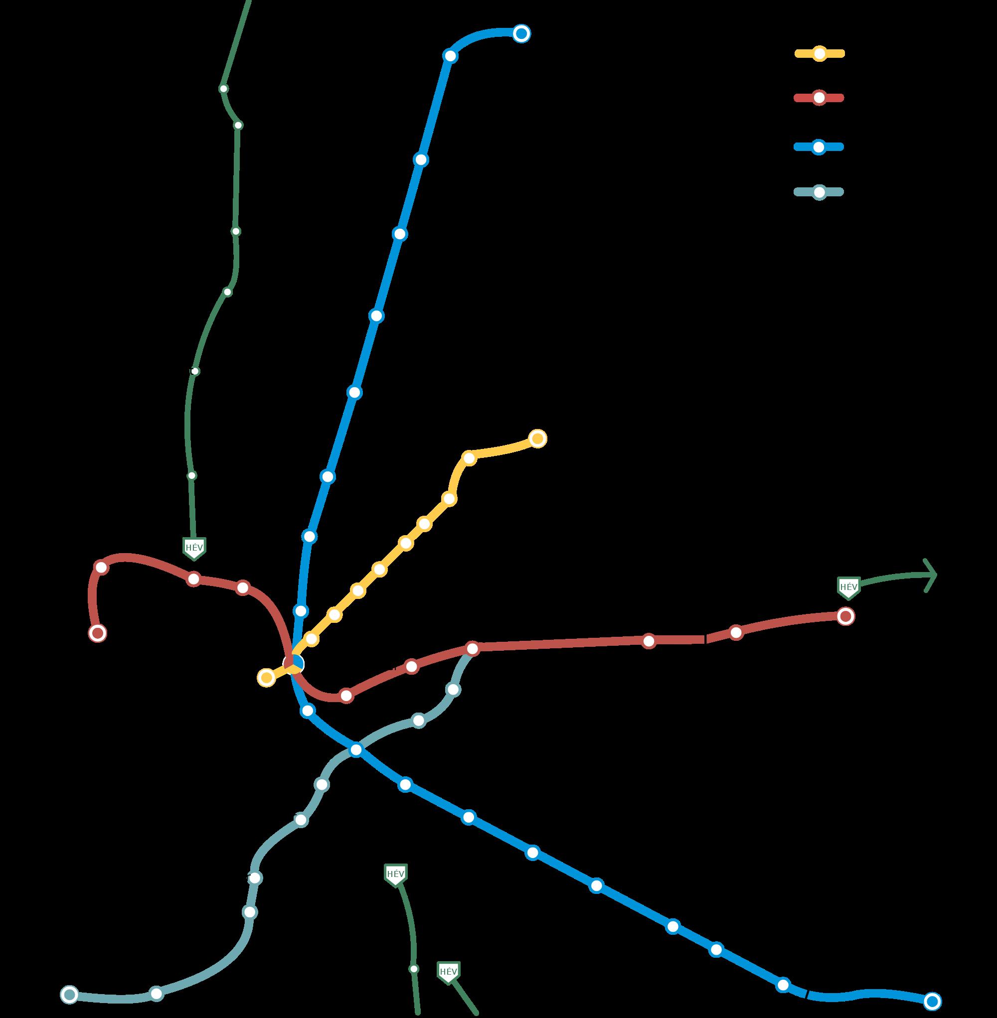 budapest metro map pdf