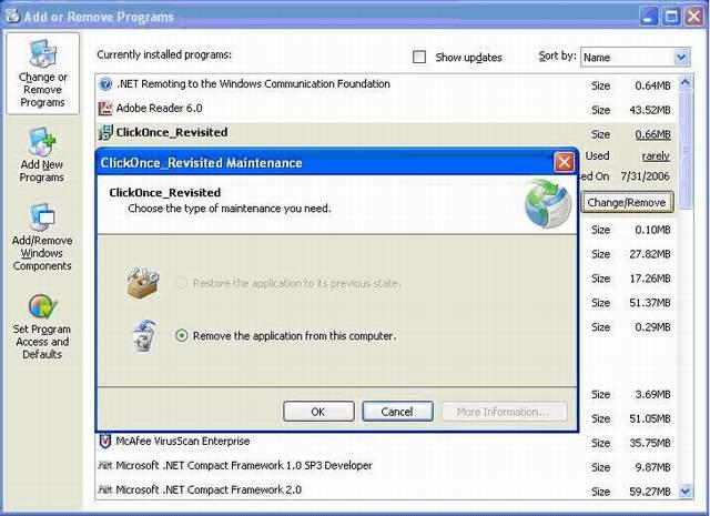 application restore
