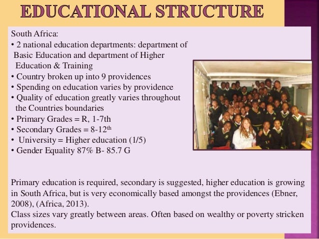 current education system in south africa pdf