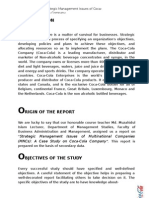coca cola case study pdf
