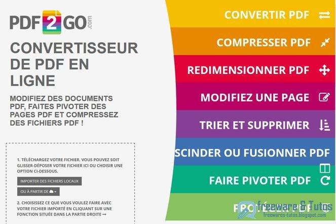 convertir pdf docx en ligne