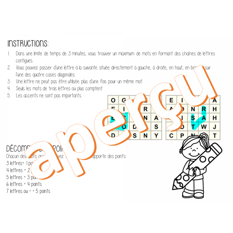 boggle instructions pdf