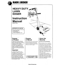 black & decker instruction manuals