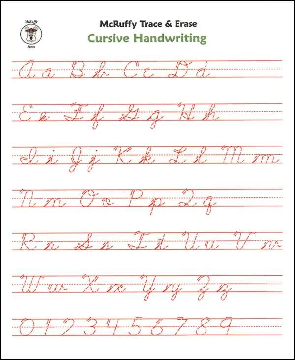 cursive handwriting practice for adults pdf