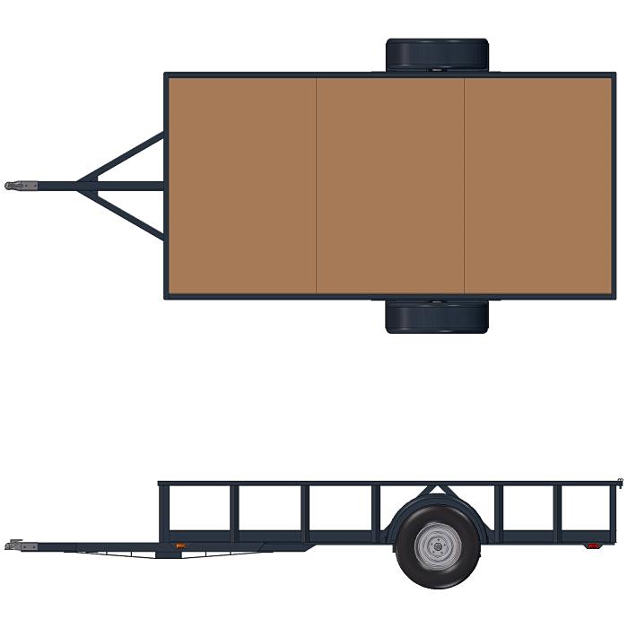 6x12 utility trailer plans pdf