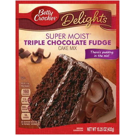 betty crocker chocolate cake box instructions