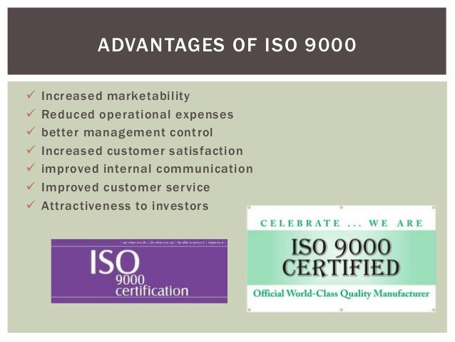 benefits of iso 9000 pdf