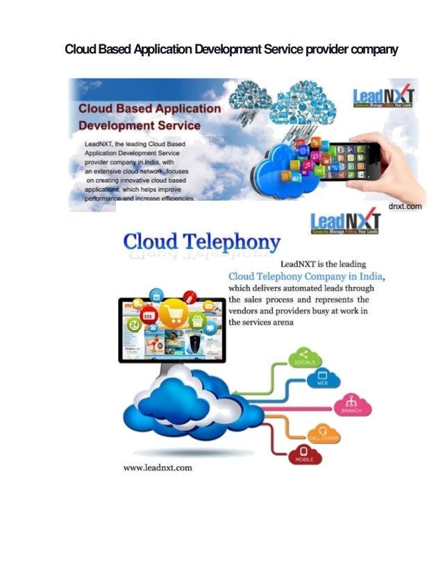 application development service provider