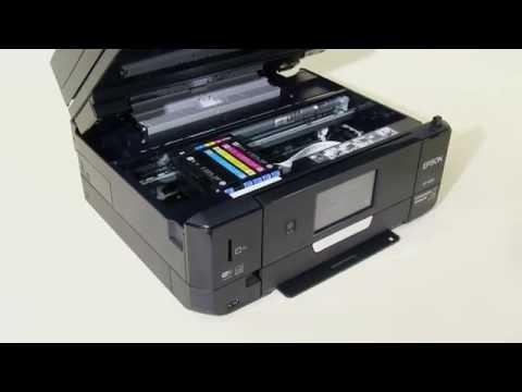 change cartridges epson x-100 manual