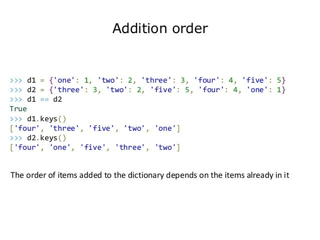 add an item to a python dictionary
