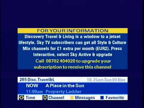 current tv guide for sky 5